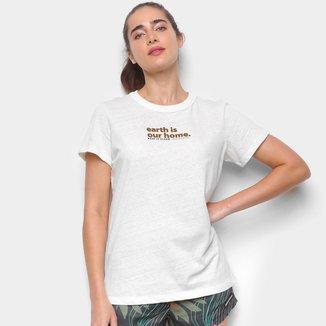 Camiseta Colcci Earth Feminina