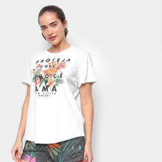 Camiseta Colcci Floral Feminina