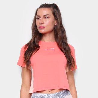 Camiseta Cropped Fila Run Gear Feminina