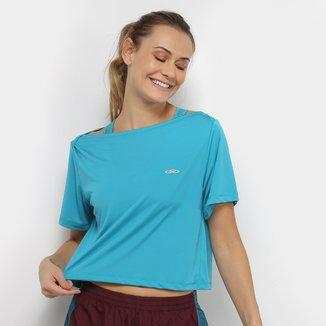 Camiseta Cropped Olympikus Fit Feminina