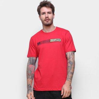 Camiseta Cyclone Tasmânia Puff Masculina