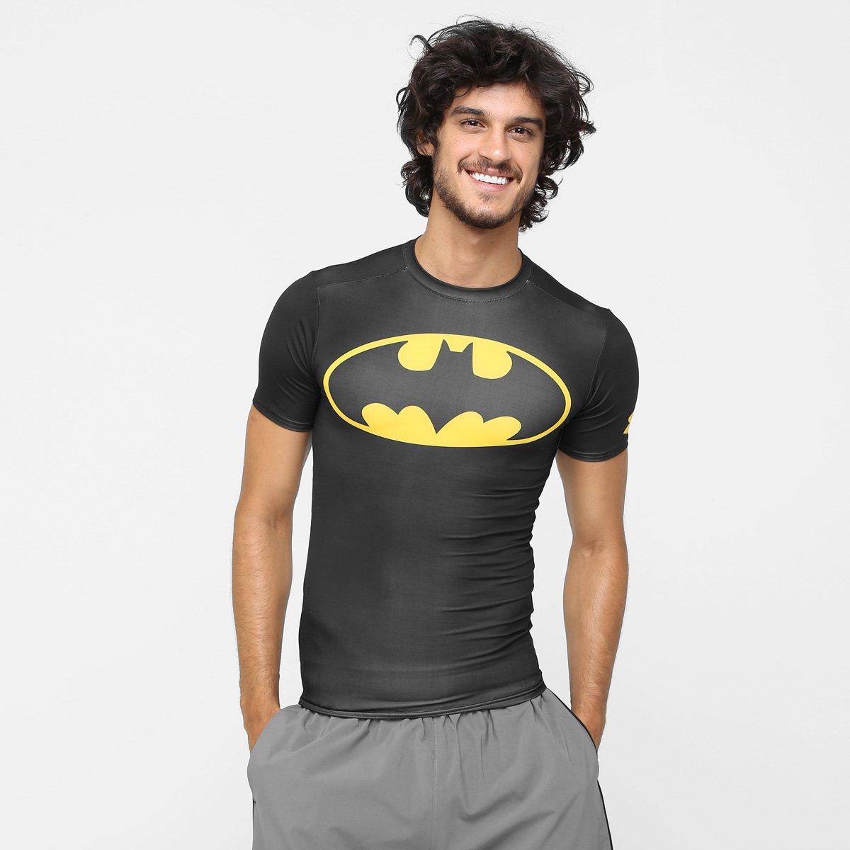 5f3fc27dbe4 Camiseta de Compressão Under Armour Batman Masculina - Compre Agora ...