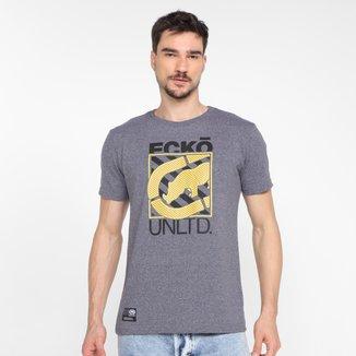 Camiseta Ecko Block Logo Masculina
