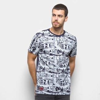 Camiseta Ecko Colagens Masculina