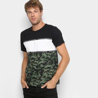 Camiseta Ecko Especial Camo Masculina