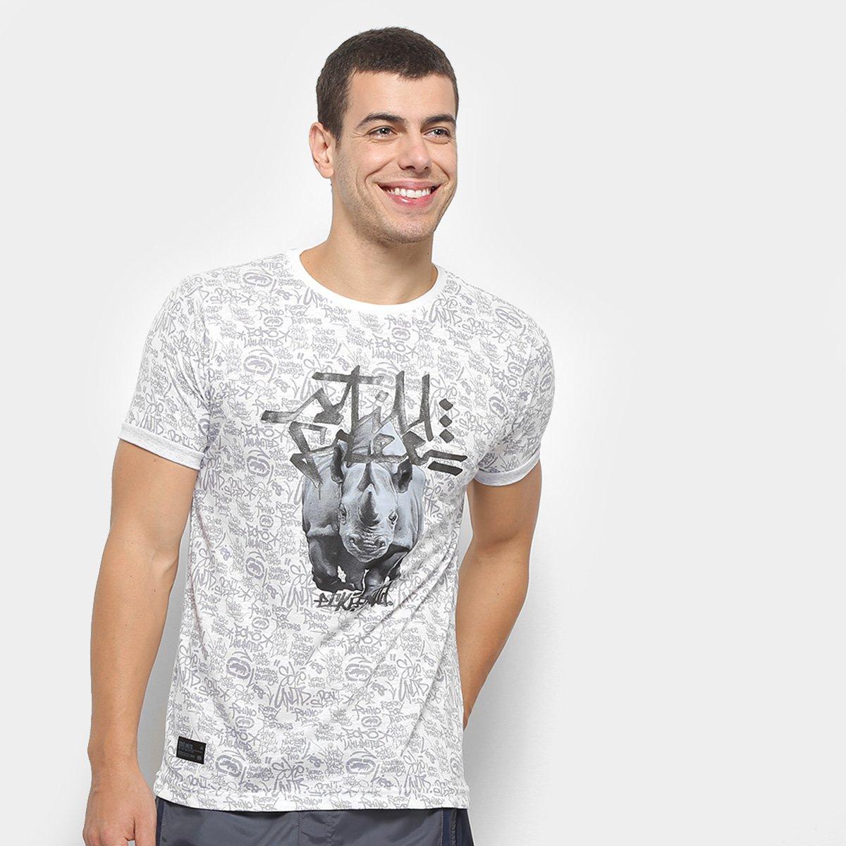 6c91b56f63 Camiseta Ecko Especial Masculina - Cinza | Allianz Parque Shop