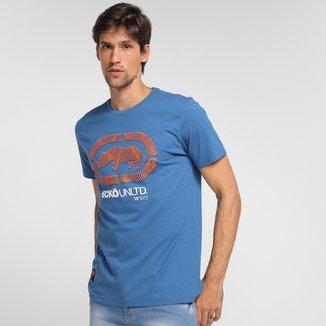 Camiseta Ecko Estampada Manga Curta Masculina