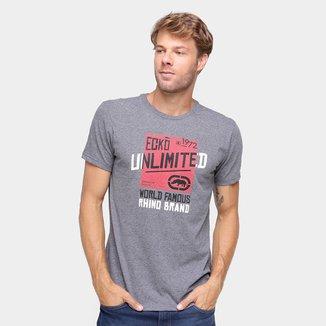 Camiseta Ecko Estampada World Famous Masculina