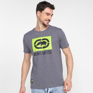 Camiseta Ecko Logo Color Masculina