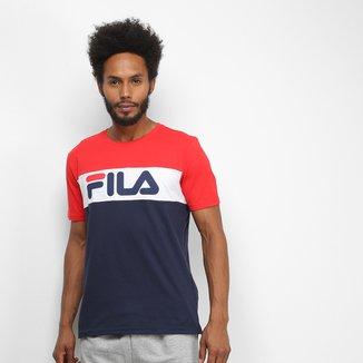 Camiseta Fila Letter Colors Masculina
