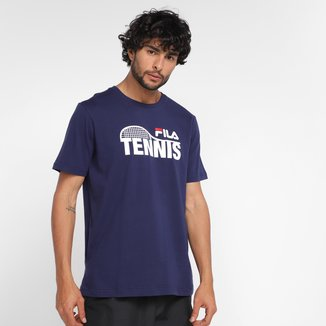 Camiseta Fila Tennis Racket Masculina