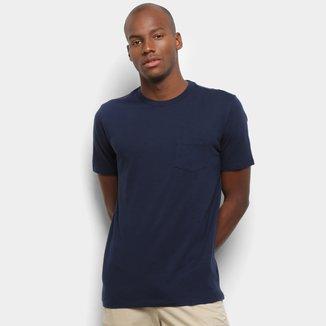 Camiseta GAP Básica  com Bolso Masculina