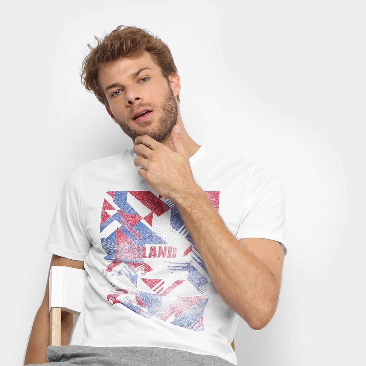 fe421f747cc7e Camiseta GONEW Box Inglaterra Masculina - Compre Agora