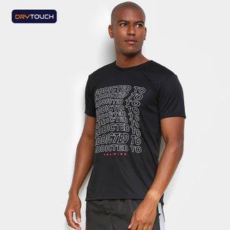 Camiseta Gonew Dry Touch Addicted Masculina