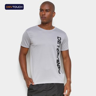 Camiseta Gonew Dry Touch Determined Side Masculina