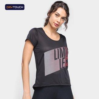 Camiseta Gonew Dry Touch Limit Less Feminina