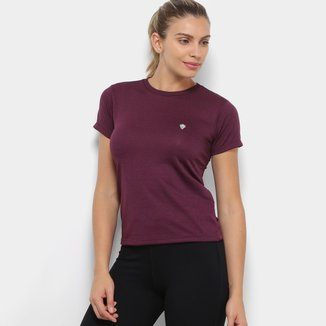 Camiseta Gonew Dry Touch Melange Workout Feminina