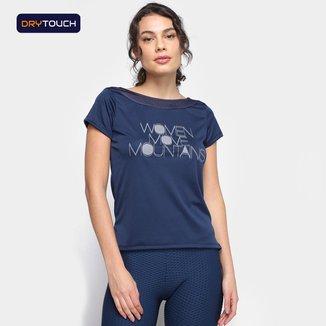 Camiseta Gonew Dry Touch Move Mountains Feminina
