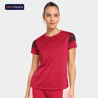 Camiseta Gonew Dry Touch Ocean Striped Feminina