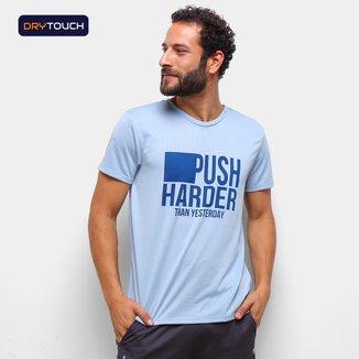 Camiseta Gonew Dry Touch Push Harder Masculina
