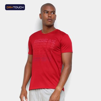 Camiseta Gonew Dry Touch Repeat Masculina