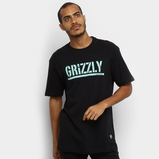 Camiseta Grizzly Stamped Masculina