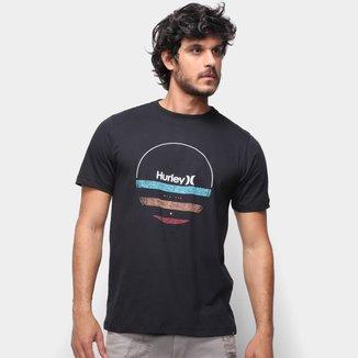 Camiseta Hurley Banded Pe Masculina