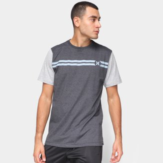Camiseta Hurley Block Party Masculina
