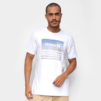 Camiseta Hurley Boardline Textripe Masculina