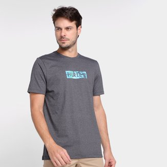 Camiseta Hurley Box Smoke Masculina