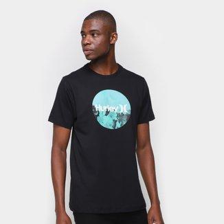 Camiseta Hurley Deep Flower Pe Masculina