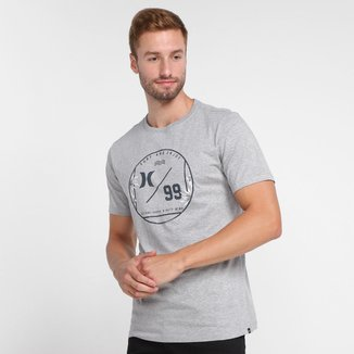 Camiseta Hurley Flower Masculina