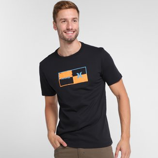 Camiseta Hurley Geometric Masculina