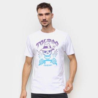 Camiseta Hurley Skull Drive Masculina