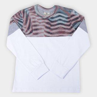 Camiseta Infantil Nicoboco Especial Pinsir Manga Longa Masculina