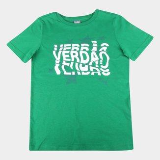 Camiseta Infantil Palmeiras Graphic Puma