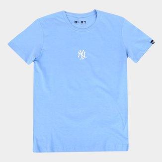 Camiseta Juvenil New Era MLB New York Yankees Masculina