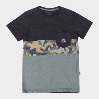 Camiseta Juvenil Quiksilver Microdose Masculina