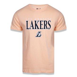 Camiseta Los Angeles Lakers New Era Core Classicadd Masculina