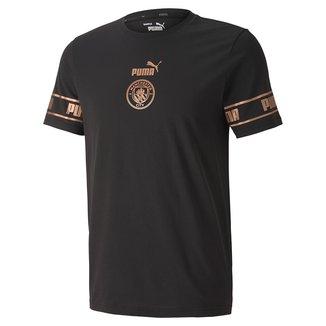 Camiseta Manchester City Puma Culture Masculina