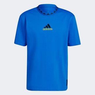 Camiseta Manchester United Icon 21/22 Adidas Masculina