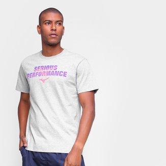 Camiseta Mizuno Graphic Serious Masculina