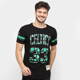 Camiseta NBA Boston Celtics nº 33 Larry Bird Especial Mitchell & Ness Masculina