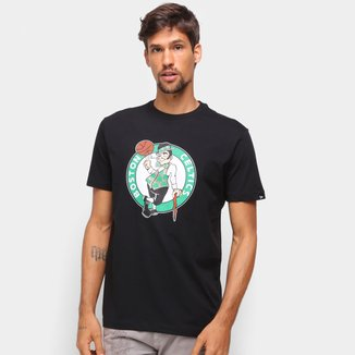Camiseta NBA Boston Celtics New Era Logo Masculina