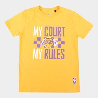 Camiseta NBA Los Angeles Lakers Juvenil Masculina