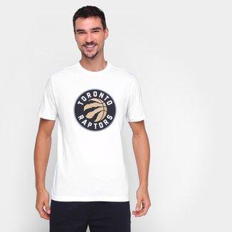 Camiseta NBA Toronto Raptors New Era Logo Masculina