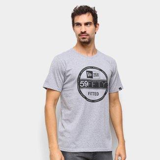 Camiseta New Era Essentials 59 Fifty Masculina