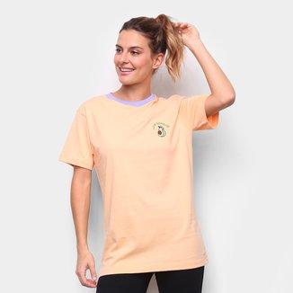 Camiseta New Era Fruit Avocado Los Angeles Feminina