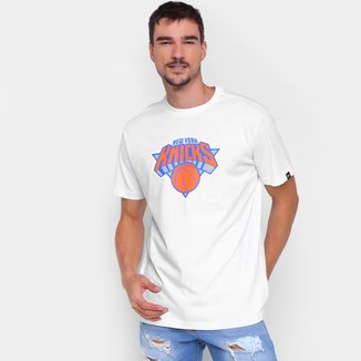 Camiseta New Era NBA New York Knicks Logo Masculina