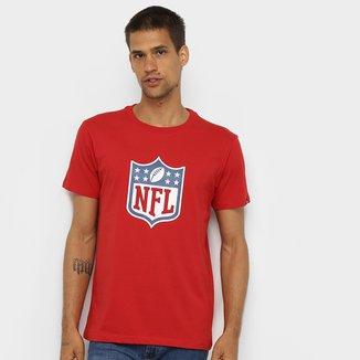 Camiseta New Era NFL Básica Essentials Masculina